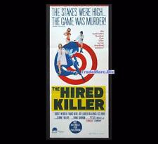 Hired Killer 1966 aka Tecnica di un omicidio Original Australian Daybill Poster