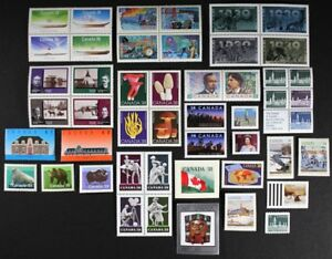 CANADA-Postage-Stamps-1989-Complete-Year-set-collection-Mint-NH-See-scans