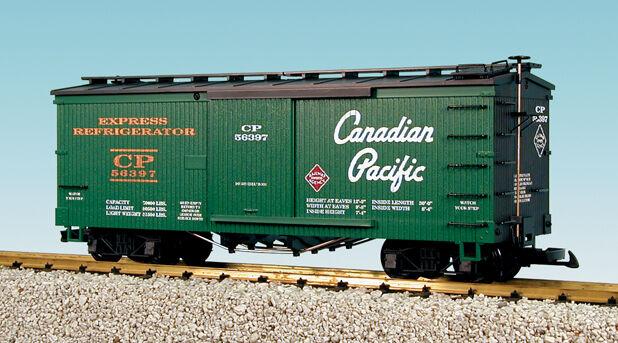 USA Trains G Scale 19083 Woodside Box Car CP REA Rd