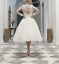 Bridal-Lace-Tulle-Tea-Length-Wedding-Formal-Short-Gown-Party-Dresses-Size-6-18 thumbnail 2