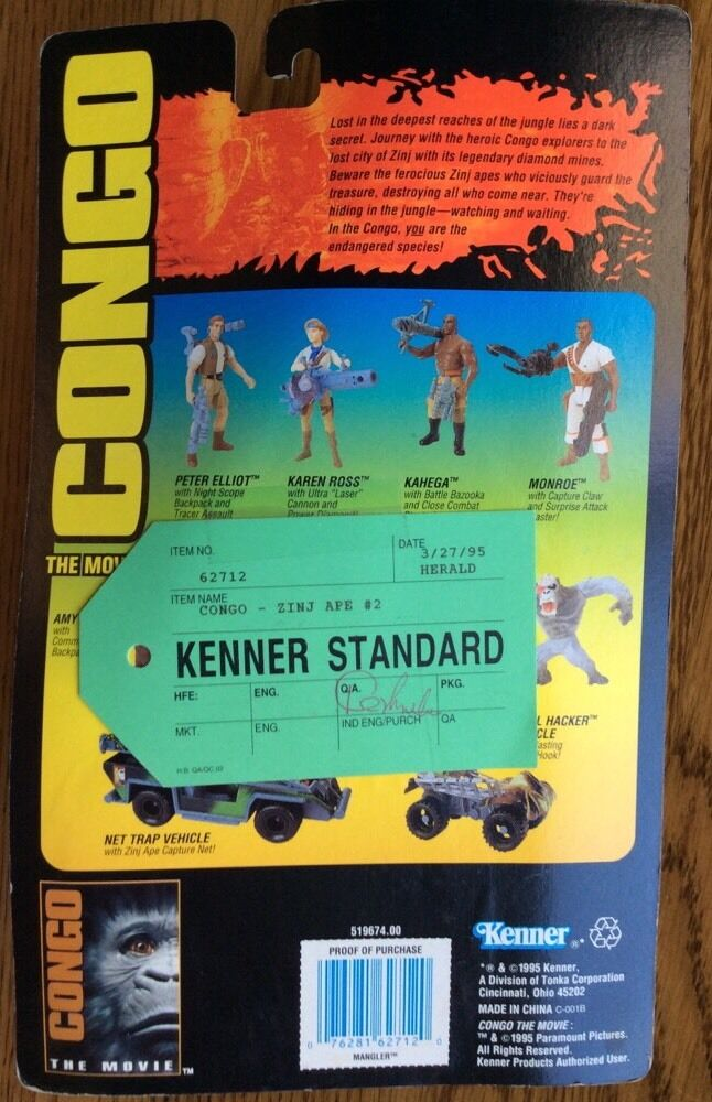 Kenner standard - prototyp - kongo - zerfleischer