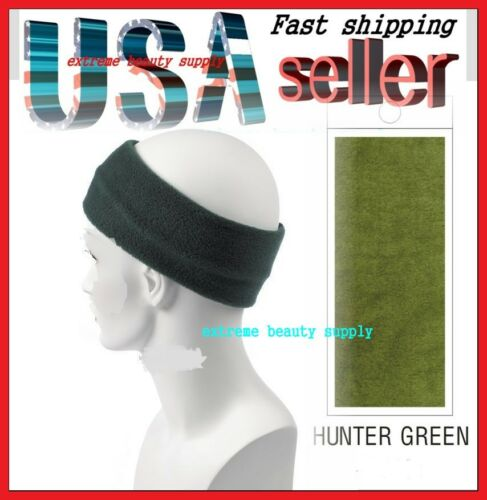 BIKER  HEAD LINER Elastic SweatBAND WARP HUNTER GREEN
