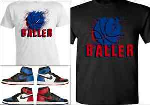 EXCLUSIVE-TEE-T-SHIRT-2-TO-MATCH-AIR-JORDAN-1-TOP-3-BANNED-BREDS-ROYALS-CHICAGOS