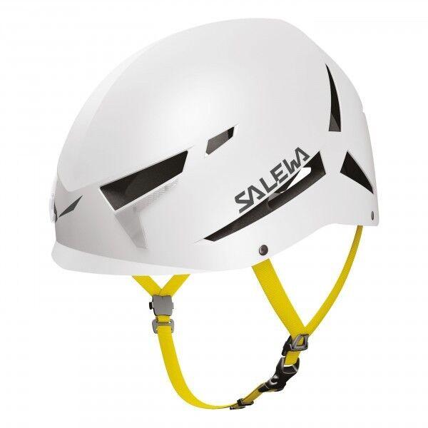 Casco Via Ferrata Arrampicata Alpinismo SALEWA VEGA Helmet White S M