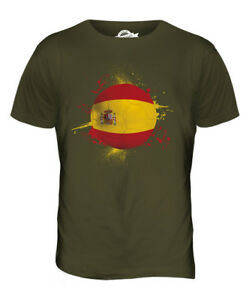 SPAIN-FOOTBALL-MENS-T-SHIRT-TEE-TOP-GIFTWORLD-CUP-SPORT