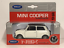 thumbnail 8 - Mini-Cooper-1300-Cream-and-Red-1-32-Scale-Pull-Back-Go-Welly-49720