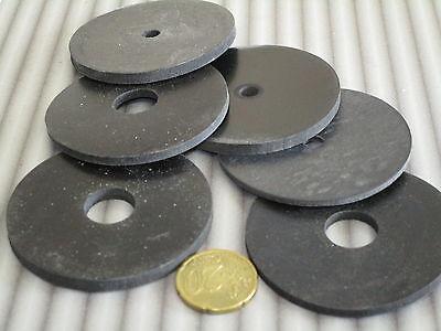 Jubaopen Gummi Unterlegscheiben 650 St/ück Schwarz Gummit/ülle Kunststoff Runde Spacer Nylondichtung mit M2 M2.5 M3 M4 M5 M6 M8 M10 f/ür Industrie Befestigungen