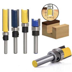 1-4-034-Schaft-1-2-034-5-8-034-20-25-38mm-Vorlage-Trim-Holzfraeser-Nutfraeser-Oberfraese