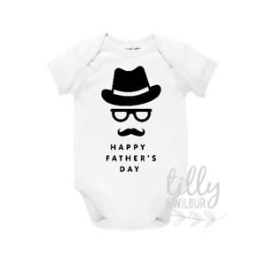 Happy Father/'s Day Fathers Day Bodysuit Happy 1st Father/'s Day Father/'s Day