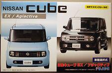 2002 Nissan Cube Z11 EX / Agiactive JDM, 1:24, Fujimi 039374