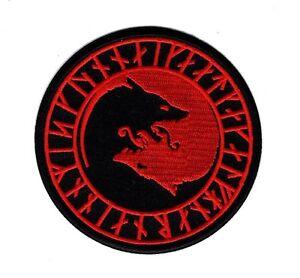Morton Home-The Black Viking Berserker//Ulfhednar NO Mercy Patch