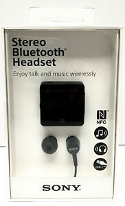 Sony Sbh24 Sbh 24 Nfc Bluetooth Stereo Headset Music Earphone Usb Type C Black Ebay