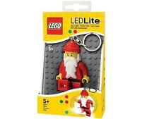 LEGO SANTA LED LITE Christmas Minifigure Flashlight Light Keychain NEW