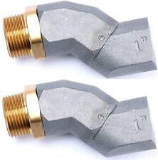 2 Pcs 1 Inch Fuel Swivelfuel Transfer Hose Swivel For Fuel Nozzle Amarine Made