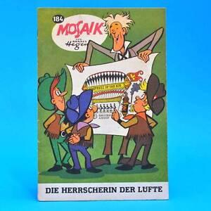 Mosaik-184-Digedags-Hannes-Hegen-Originalheft-Original-DDR-AC-1-B