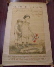 Affiche Journée Nationale Des Orphelins Guerre 1914