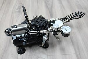 Iwata-Studio-Series-Smart-Jet-Compressor-Iwata-Eclipse-HP-CS-Airbrush-Gun