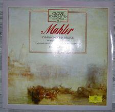 LP Mahler Symphonische Werke,NM,Vinyl Neuwertig (Kubelik),D.Grammophon 411382-1