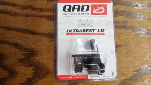 New QAD Ultra Rest LD Black RH Full Containment Fall Away Arrow Rest ULDBK-R
