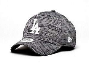 Image is loading New-Era-Los-Angeles-Dodgers-Charcoal-Fleck-Knit- 67884715078
