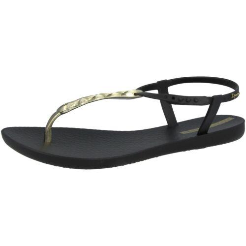 Ipanema Charm VI Sand Fem Schuhe Damen Zehentrenner Sandale black 82517-9139