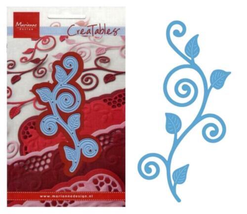 Relieve-stanzschablone flores Flowers viña nenufar Marianne Design Creatables