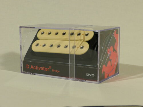 DP719 DiMarzio D Activator 7 Neck /& Bridge P//ups in Various Colours DP720