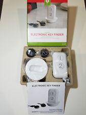 The Sharper Image Portable Electronic Key Finder 45 Ft Range 2 Fobs