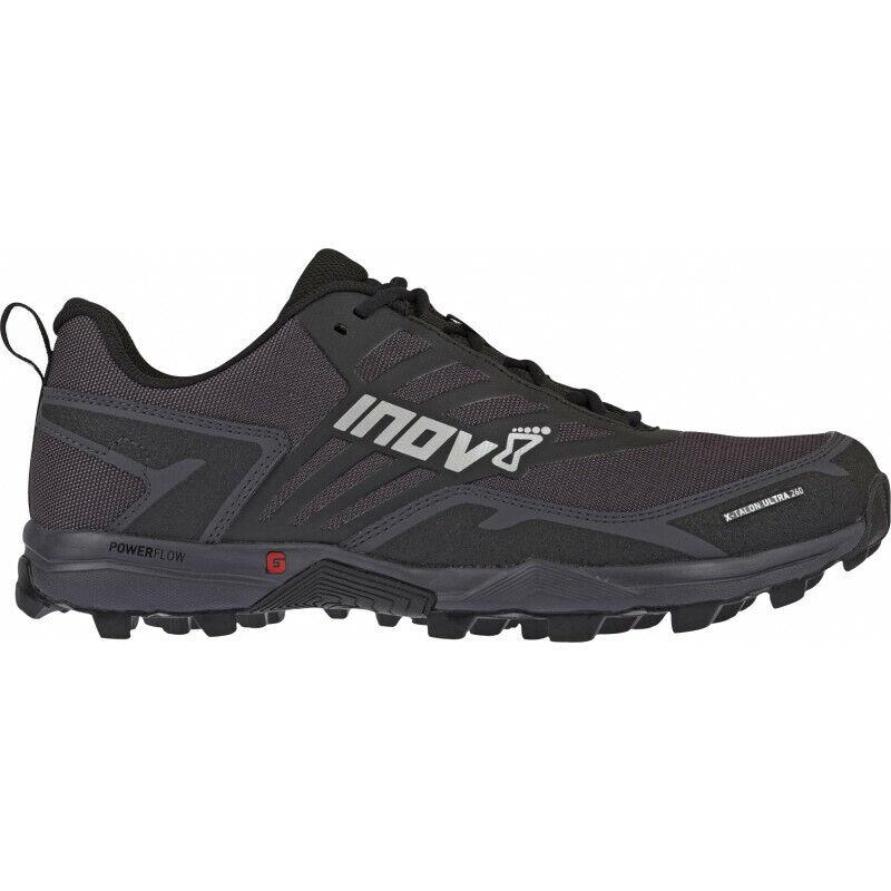 Para Hombre Inov 8 X-Talon 260 Ultra Para Hombre Trail Running Zapatos-Negro 1