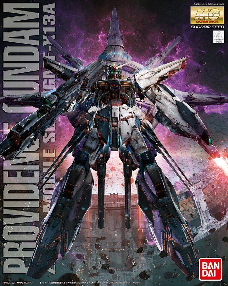 Bandai 1  100 MG 195 ZGMF -X13A Providence Gundam