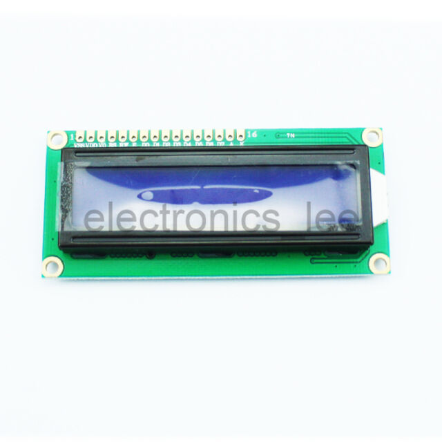 1602 16x2 HD44780 Character LCD Display Module Blue Blacklight