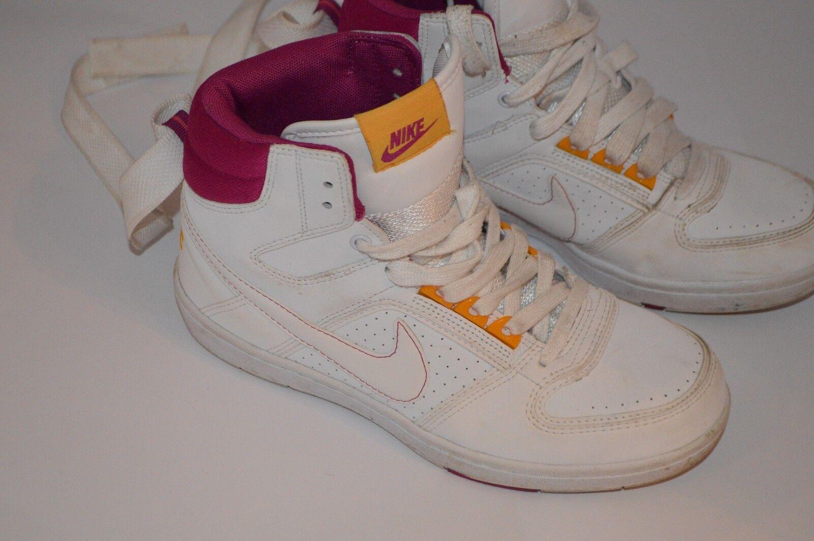 Nike Delta Lite Mid pour femme Blanc Baskets Hi-top Baskets Blanc Chaussures UK 5 euro 38.5 7.5 US 0d6754