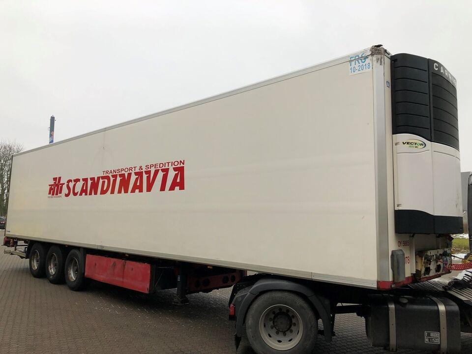 Trailer, Krone 3 Akslet Køle trailer, lastevne (kg):