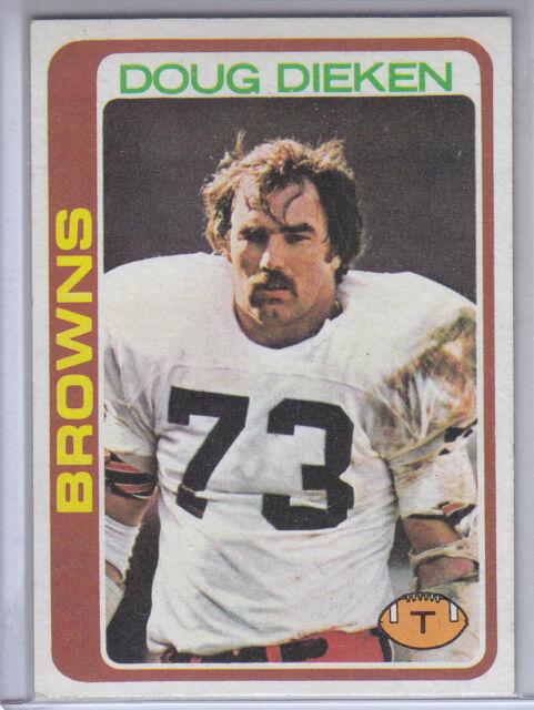 """1978 Topps Card #413 Doug Dieken Browns    """""""