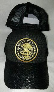 b1f472afd7636 SAN LUIS POTOSI MEXICO LOGO FEDERAL HAT GORRA DE PALMA VISERA DE ...
