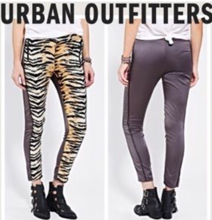 NEW Urban Outfitters Animal Print Jogger Pants Trousers Size Small