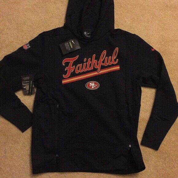 New NFL Men/'s San Francisco 49ers Sweatshirt Medium-2XL Football Team Apparel