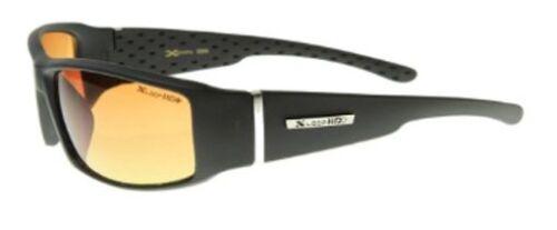 XLOOP SPORT WRAP HD NIGHT DRIVING SUNGLASSES YELLOW HIGH DEFINITION GLASSES