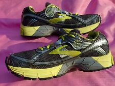 Brooks Ravenna 3 Anthracite Black Sunny Lime Womens Running Size 9.5