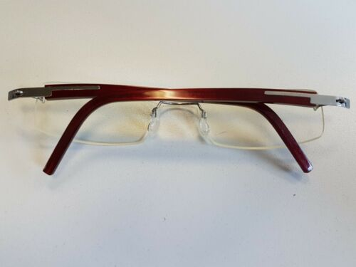 Lindberg Spirit Titanium T98 Eyeglasses Rimless Glasses Hand Denmark Made 2120