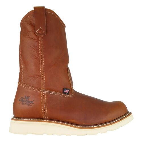 Thorogood Boot 814-4208 Made In USA Moc Toe Pull On Wedge American Heritage Work