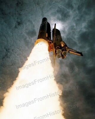Space Shuttles Dependable 8x10 Print Nasa Space Shuttle Columbia Sts-50 Launch 1992 #ss92 To Win A High Admiration