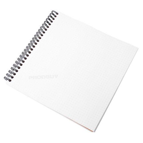 Orange Spiral Architects Graphic Art Grid Note Pad Rhodia Reverse Dot Book A5