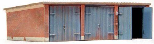 Artitec 10.163 garajes h0 1:87 kit desmontan resin garaje