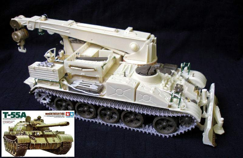 JVBT-55 & T-55A COMBI set 1 35 PanzerShop Tamiya