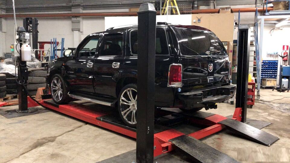 NY. 4 Søjlet autolift 4000kg 4M