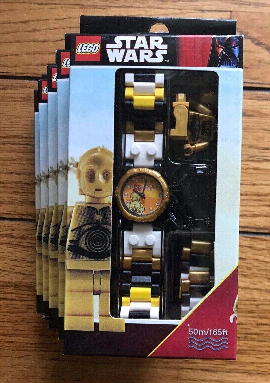 Nouveau Lego Star Wars Montre-Bracelet C-3po Plus  Minifigurine 9001901 5 Montres  juste pour toi