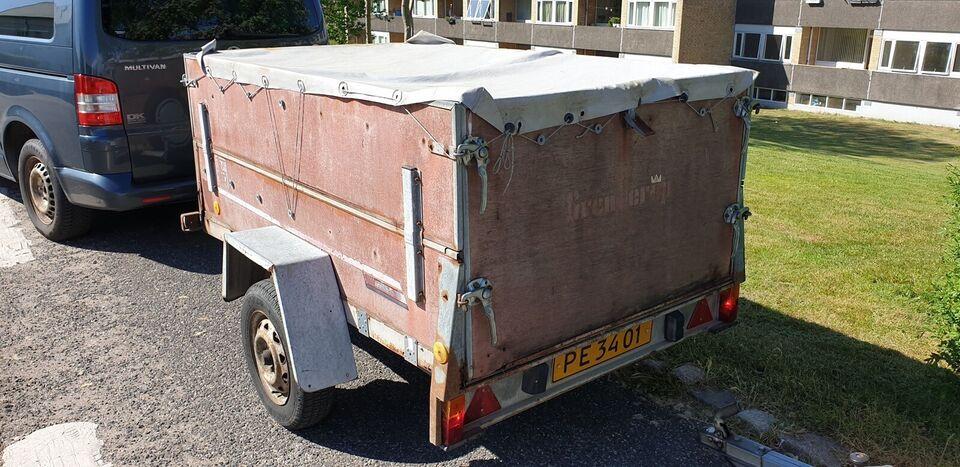 Trailer, Brenderup 502, lastevne (kg): 575