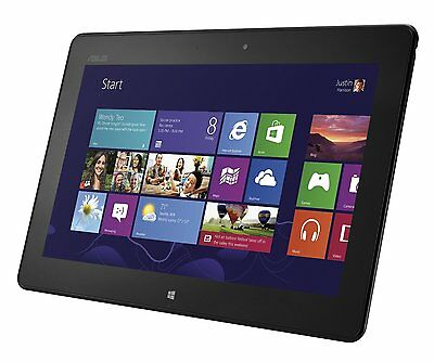 "ASUS VivoTab RT TF600T 10.1"" 32GB Wi-Fi Windows 8 1.3 GHz Webcam Tablet PC -Gray"