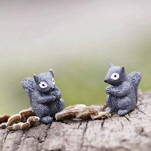 Miniature-Emotion-Squirrel-Garden-Ornament-Plant-Pot-Fairy-Dollhouse-Craft-PY